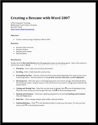 creating a professional resume create new
