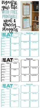organization bie printable binder cover and spine to do pantry makeover printable weekly meal planner and shopping list planner