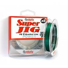 Купить шнур <b>Fanatik Super</b> Jig PE X8 Green 100m. (0.8) 0.14mm.
