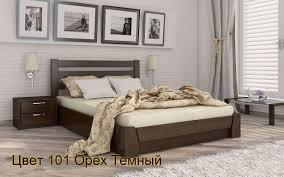 Деревянная <b>кровать</b> Селена с механизмом Массив <b>120х190</b> см ...