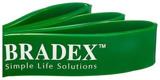 Купить <b>Эспандер</b> лента <b>BRADEX SF 0196</b> 208 х 4.5 см зеленый ...