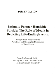 intimate partner homicide suicide the role of media in depicting intimate partner homicide suicide the role of media in depicting life ending events