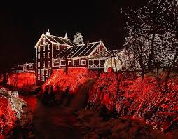 clifton mill in ohio beautiful christmas decorations