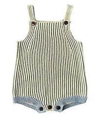 Pinleck Infant Baby Girls Boys Knit Stripe Romper ... - Amazon.com