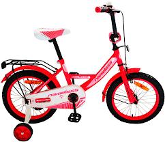 "<b>Велосипед</b> 14"" <b>Nameless VECTOR</b>, <b>красный</b>/<b>белый</b> - купить по ..."