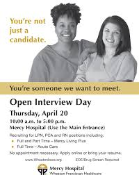 lpn pca rn interview day wheaton franciscan healthcare