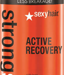 <b>Sexy Hair</b> Introduces <b>Strong Sexy Hair Active</b> Recovery Repairing ...