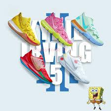 SpongeBob x Nike Kyrie Irving <b>2019</b> NBA Men's And Women's ...