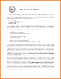 financial aid appeal letter quote templates 7 financial aid appeal letter