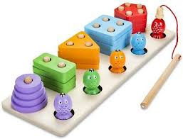 <b>Wooden Memory</b> Matching Stacks Montessori Educational Learning ...