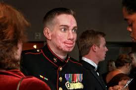 us department of defense photo essay  marine corps cpl aaron p mankin an iraq war veteran tells the