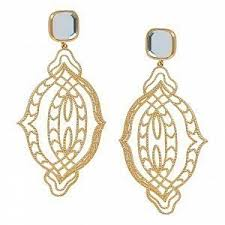 <b>Золотистые серьги Gypsy</b> Soul & Mirror - купить за 6 900 руб. в ...