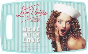 """<b>Доска разделочная Mayer &</b> Boch """"Love"""", 37 х 23 см — купить в ..."""