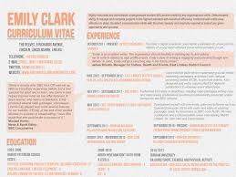 curriculum vitae emily clark the delves