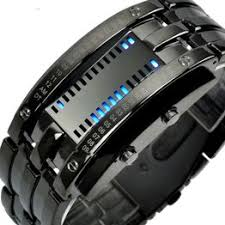 Fashion Creative Sport Watch Men Stainless Steel Strap LED ... - Vova