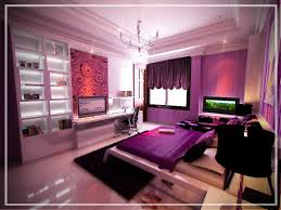 bedroom cool modern bedroom for teenagers with shiny white minimalis flat bed also purple cotton bed black white bedroom cool
