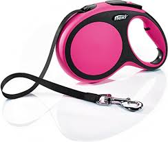 <b>flexi New Comfort</b> Large Retractable Dog Leash <b>Tape</b> 26'/8m, Pink ...