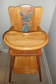 antique high chair 1948 antique high chairs wooden