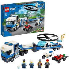 <b>Конструктор LEGO City</b> 60244 <b>Полицейский</b> вертолётный ...