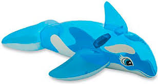 <b>Надувная игрушка-наездник Intex 163х76см</b> ''Касатка'' от 3 лет ...