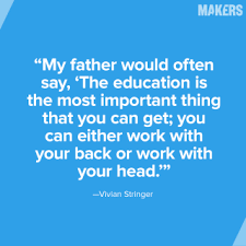10 Father's Day Quotes From Fathers of MAKERS | MAKERS via Relatably.com