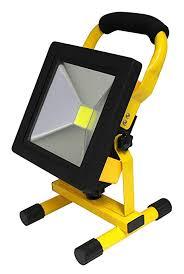 <b>20W</b> Portable <b>LED Work Light</b> Cordless Rechargeable IP65 12v ...