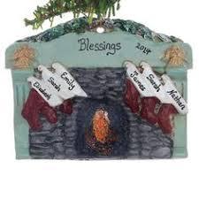 <b>Family</b> of 4 <b>stockings</b> Christmas ornament - <b>personalized</b> free - wood ...