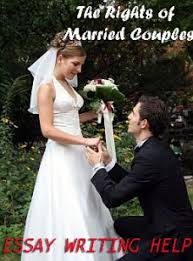 essay paper on the rights of married couples
