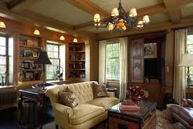 traditional home office by chicago architects building designers cook architectural design studio chatham home office decorator