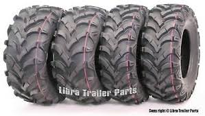 Set of 4 New <b>WANDA</b> ATV Tires 24x8-<b>12</b> Front and 24x9-11 Rear ...