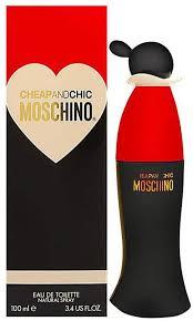 <b>MOSCHINO Cheap and Chic</b> Eau De Toilette Spray, 3.4 ounces ...