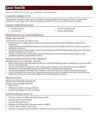 Director   Education And Additional Skills Also Professional Experience For Resume Objective For Job  Daycare Center