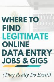 17 best images about work at home jobs work from legitimate online data entry jobs gigs