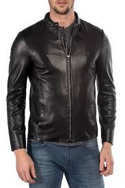 <b>Кожаная куртка MIO CALVINO</b> арт MIOAK10061M_BLACK BLACK ...