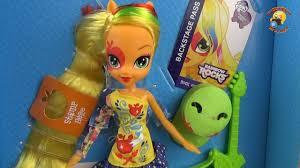 <b>Кукла</b> пони Эпплджек - распаковка и обзор Девушки из Эквестрии ...
