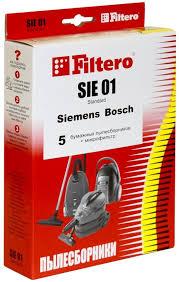 Купить <b>Мешки</b>-<b>пылесборники Filtero SIE</b> 01 (5) Standard по ...