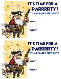 pirate party invitation templates com invitation templates printable pirate create a pirate birthday party pirate