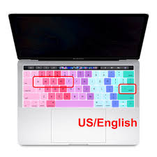 <b>Redlai</b> Silicone US English Colorful Keyboard Cover Stickers ...