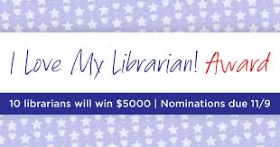 <b>I Love My</b> Librarian Award | I Love Libraries