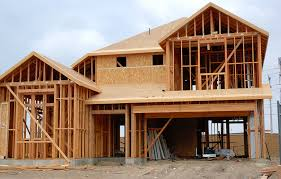 interesting house under construction picture showing wooden framing for two storey design and build homes beautiful build home