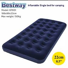 MURAH2  <b>BESTWAY</b> Portable Premium Series Inflatable Single Bed ...