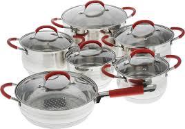 "<b>Набор посуды</b> ""Mayer & Boch"" с крышками, <b>12 предметов</b>. 26038 ..."