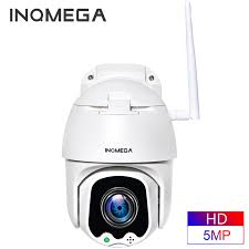 <b>INQMEGA 5MP FHD PTZ</b> Smart Surveillance IP Camera Speed ...