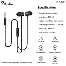 <b>PunnkFunnk</b> Hifi <b>Bass</b> Stereo Earphones Wired Sport headsets with ...