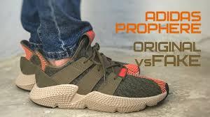 Как отличить подделку от оригинала на примере Adidas Prophere