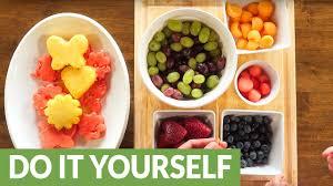 Make your own homemade edible arrangement - YouTube
