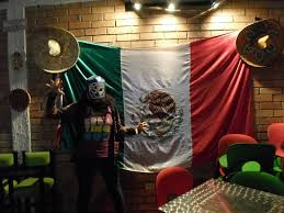 Wearing <b>a mexican mask</b> - Picture of Tacos & Cuates, San Gil ...