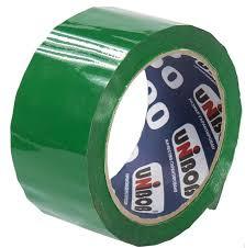 <b>Клейкая лента UNIBOB</b> 48мм*66м, зеленая - купить с доставкой ...