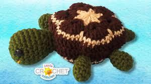 Turtle Stuffed Toy Crochet Pattern & Tutorial - <b>African</b> Flower ...
