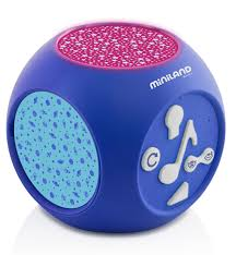 <b>Музыкальный ночник-проектор Miniland Dreamcube</b> 89196 ...